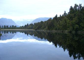 マセソン湖~フォックス氷河~ハーストでトレッキング~ワナカ