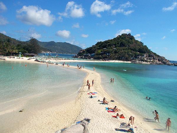 タオ島で1日シュノーケリングツアー 美しいナンユアン島にも