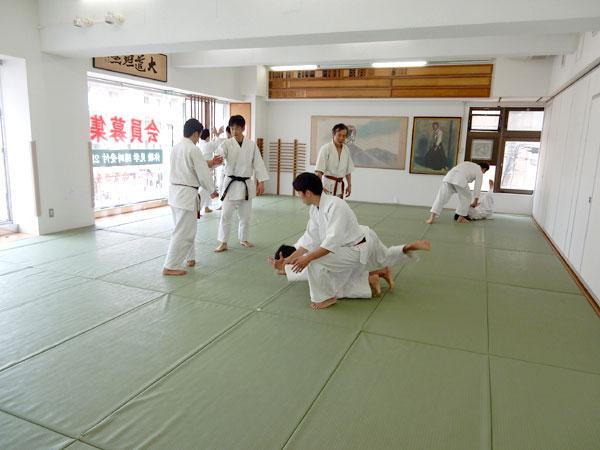 日本武術を学ぶ 東京で本格的な合気道体験~ソウルへ
