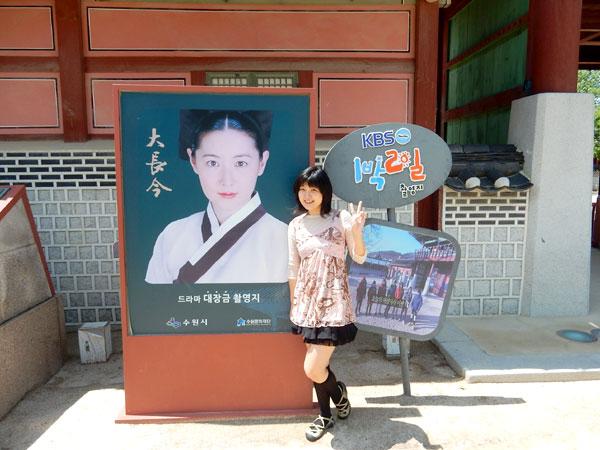 ソウルから1時間、世界文化遺産の城塞遺跡 水原華城へ