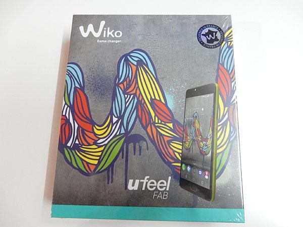 タイでWikoのスマホ ufeel FABを買いました