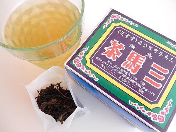 タイでおいしいお茶が飲みたい! まるで、お~いお茶のような三馬茶