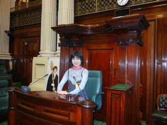 メルボルン観光 州立議事堂ツアー、かっこいい建物たくさん!