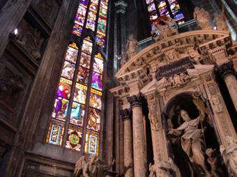 ミラノ観光 美しいドゥオモ~スフォルツァ城~楽器の練習