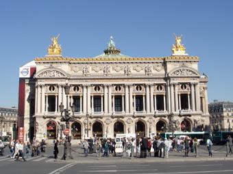 パリを歩く