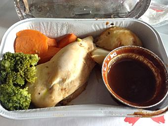 帰国 クアラルンプールから関空へ AirAsiaの機内食