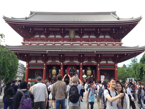 なんとか東京観光