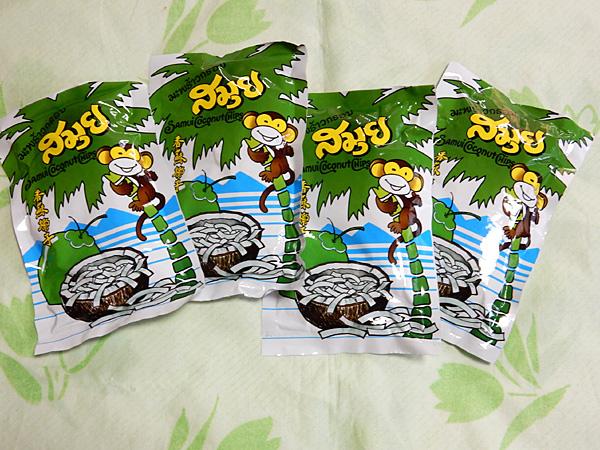 激うま! タイのココナッツチップス
