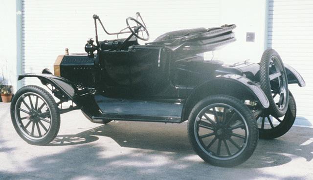 1915 Ford Model T Coupelet