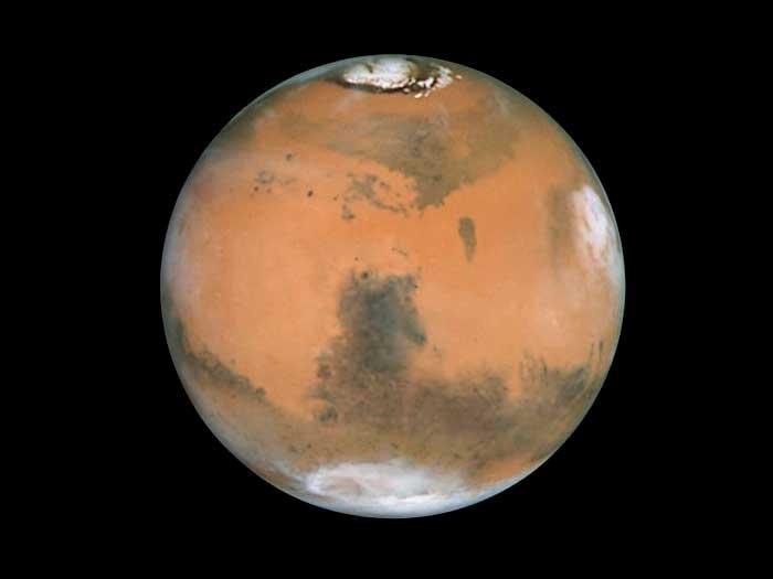 火星が逆行中