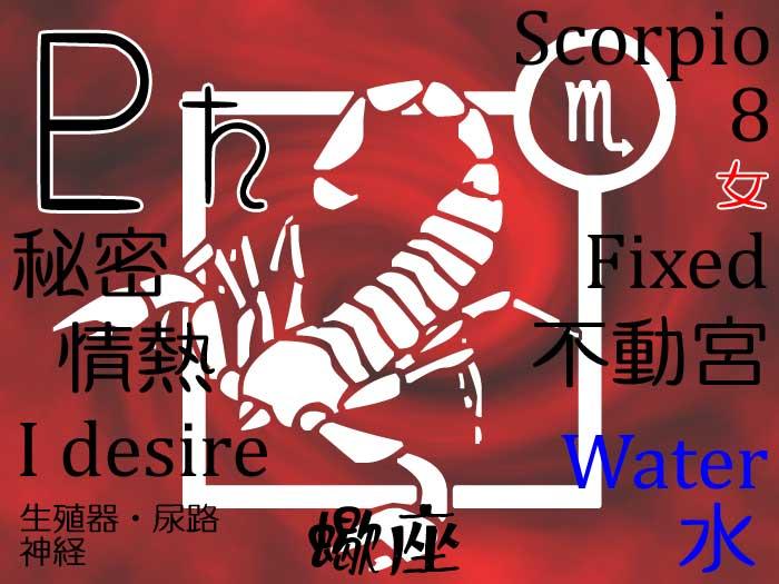 【サイデリアル】蠍座の今のホロスコープ