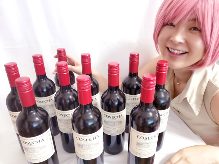 ワインが大好き!10年前から、ほぼ毎日飲んでいるよ☆