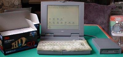 2代目 NEC PC-9821Ld/350A (1995/03~1998/09/02)