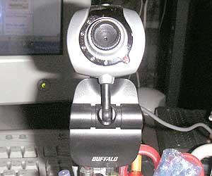 Webカメラ(BUFFALO BWC-35H01/SV Webカメラ)