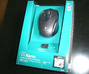 マウス(Logicool VX Nano)