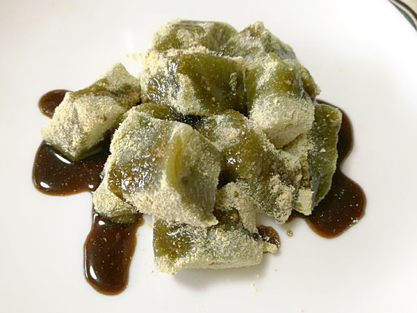 タピオカ粉でわらび餅の作り方 簡単おいしい、家族に大好評!