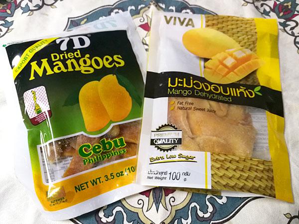 乾燥マンゴーをヨーグルトで一夜漬け!マンゴーが戻って超おいしい!