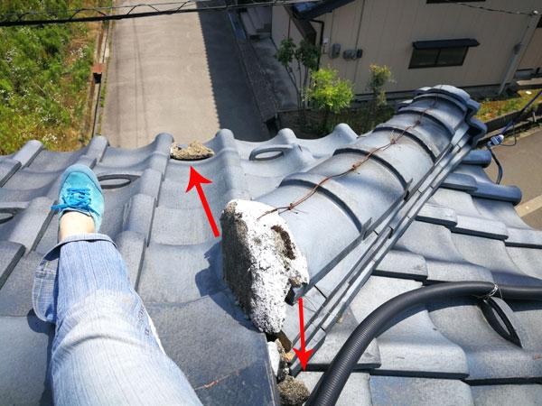 【DIY】屋根から雨漏り!? 屋根に上って自分で修理をしてみたよ