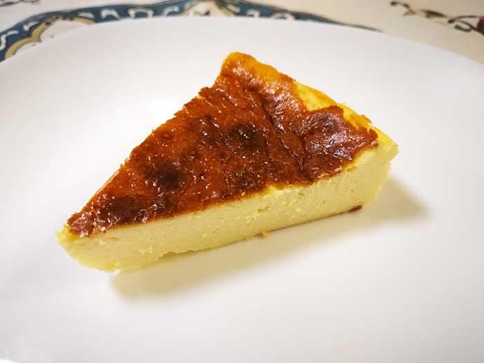 ミキサーで超簡単!バスク風チーズケーキ☆バスチーの作り方
