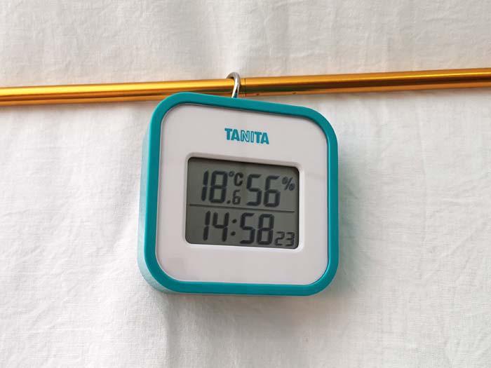 タニタの温湿度計