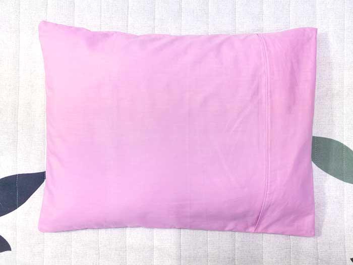 枕を入れる