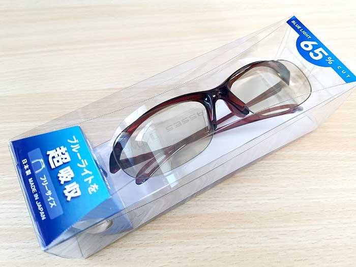 エレコムのブルーライト対策眼鏡