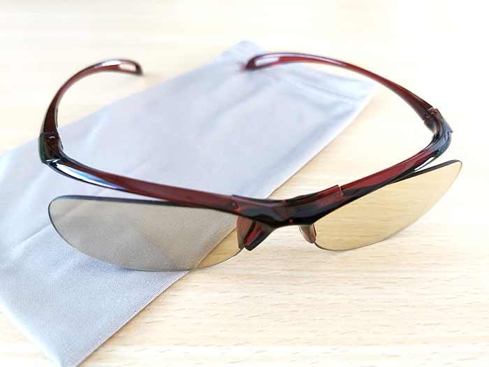 エレコムのブルーライトカット眼鏡