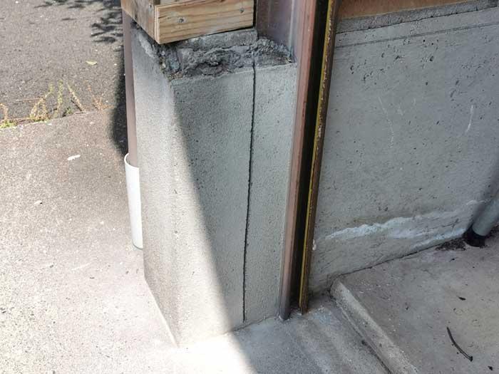一戸建て 車庫用シャッター交換