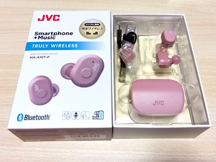 JVC HA-A10T ワイヤレスイヤホン