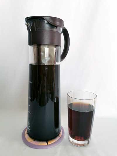 水出しアイスコーヒーが美味しい!