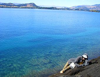 ワナカでトレッキング~プカキ湖~テカポ どこも美しい~!
