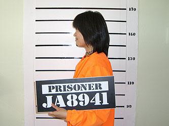 囚人服を着て写真も撮れる、元刑務所のバッパー