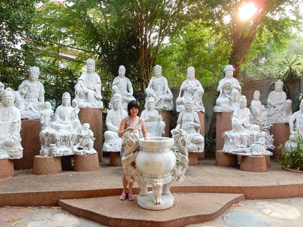バンコクで千手観音の中国寺院 クアンイン寺