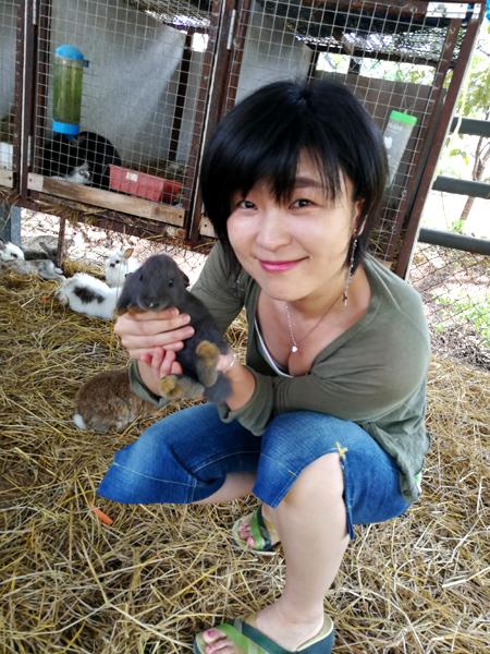 子連れでカオヤイ 動物と触れ合える小さな農場「ファーム・モー・ポー」