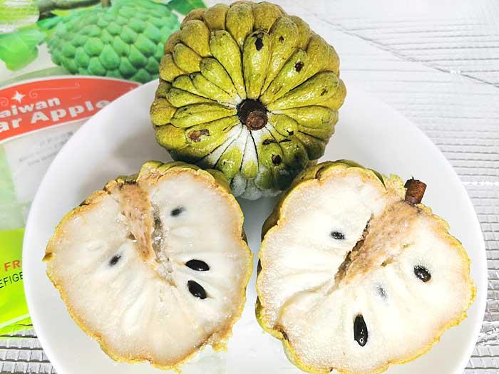 南国の甘~いフルーツ、釈迦頭ことバンレイシをモニター試食♪