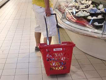 ローマのスーパーで買い物、ゴミ問題、サルサダンスデビュー