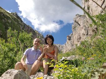 ミラノへ移動 グリーニャ山で山登り
