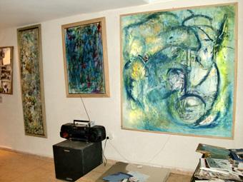 ラバトへ スカイプで出会った画家の友達に会いに行くと、家デカっ!