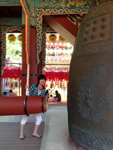 ブッダデーで、三光寺へ