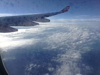 関空からクアラルンプールへ 初日は2時間寝たのみって・・・