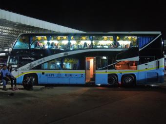 バスでビエンチャンからウドンタニ経由でチェンマイへ