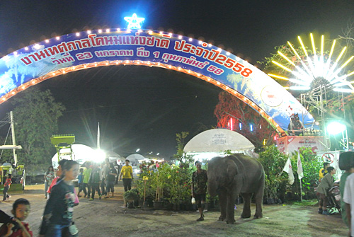 タイのお祭りがカオスだった