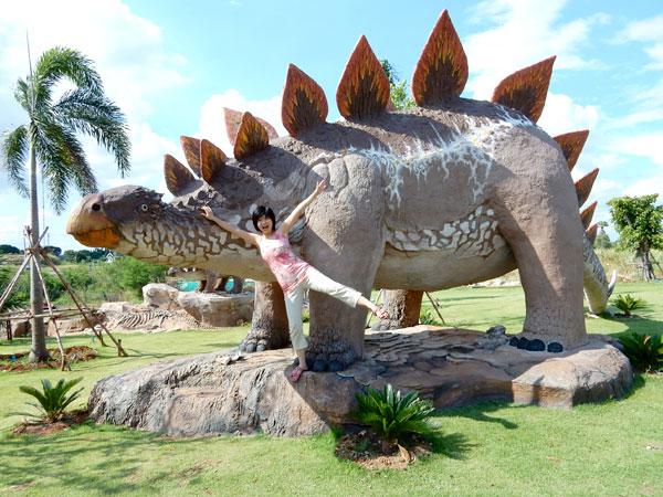 入場料100Bでたくさんの動物、カオヤイのボナンザ動物園