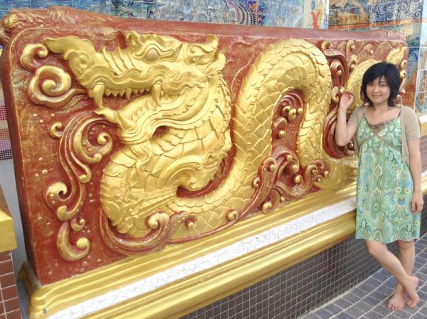 謎のデカい象のお寺 ワットバンライ