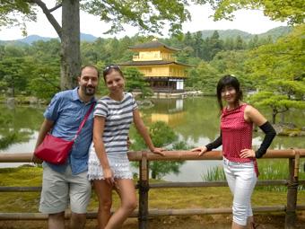 京都観光で久しぶりに金閣寺へ