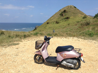 Ishigaki Island by scooter