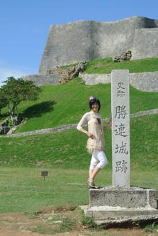 沖縄最終日 勝連城跡、海中道路、米軍基地、ヤギ汁