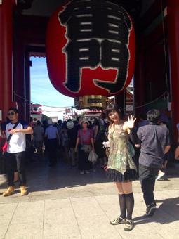 ケイズハウス東京に移動し、浅草観光、ヒカリエでディナー