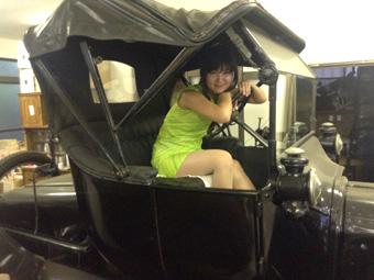 カッコイイ! 千葉の友人宅でクラシックカー遊び